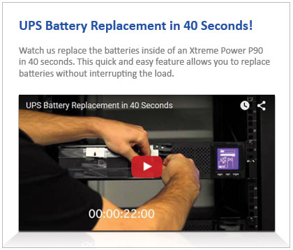 P90 Battery Replacemnt Video